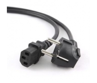 Gembird Power cord (C13), VDE approved, 1.8m