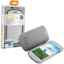 CANYON CNA-3ML01W PU Leather case_White for Galaxy SIII mini(GT-i8190), screen protector with cleaning cloth included