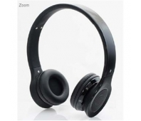 """Gembird Bluetooth stereo headset """"Berlin"""" (black) / 40 mm speakers / 20 Hz - 20 kHz / 93 dB / 32 Ohm / Microphone: 360 degrees omni-directional"""