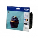 Brother LC123VALBPDR Value Ink Cartridge pack - black, yellow, cyan, magenta