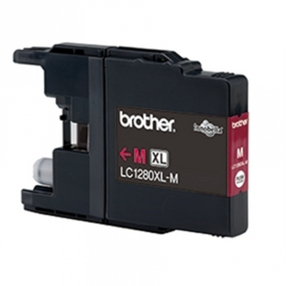 Brother LC1280M XL, 1200 pages XL size Magenta ink cartridge (MFC-J5910DW, MFC-J6510DW, MFC-J6710DW, MFC-J6910DW)