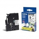 Brother TZ-EFX221, 9mm black on white flexible tape