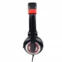 Gembird microphone & stereo headphones MHS-002, black color