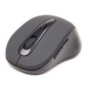 Gembird Bluetooth optical mouse 1600 DPI, black