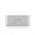 Raidsonic ICY BOX 2 bay JBOD docking and cloning station for SATA HDDs and SSDs with USB 3.0