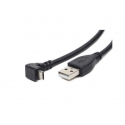 Gembird micro USB cable 2.0 AM-MBM5P 1.8M angled 90'' black