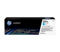 HP 201X Tonercartridge cyan 2.300 pages standard capacity