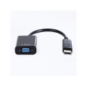 Gembird adapter displayport 1.1->VGA, on cable, black