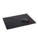 Gembird gaming mouse pad, black color, size M 250x350mm